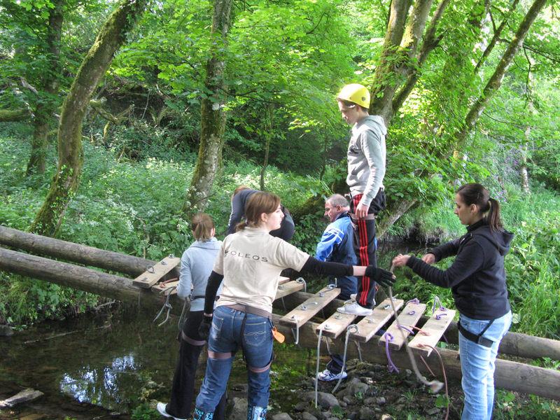 Bridge Building- Team Building Adventure