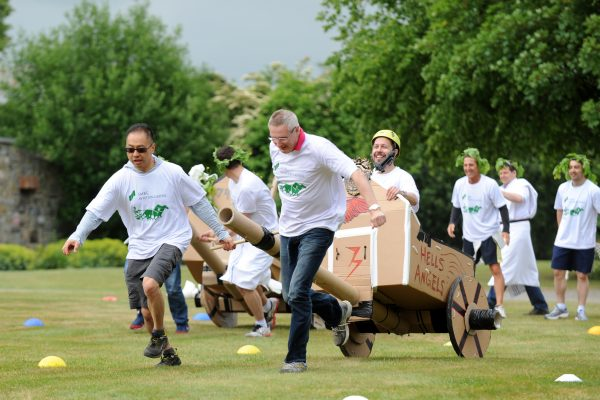Flat Out Chariot Racing- Creative Team Challenges