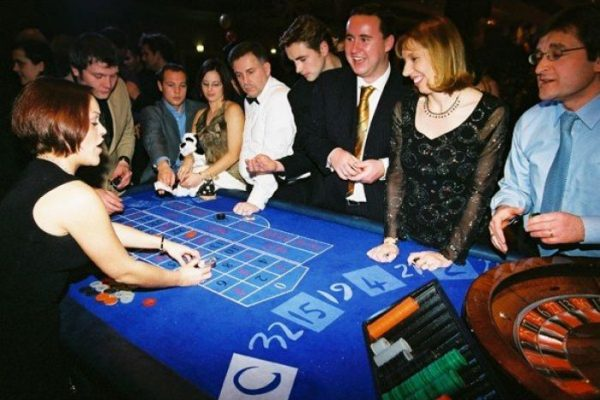 Casino Night- Evening Interactions