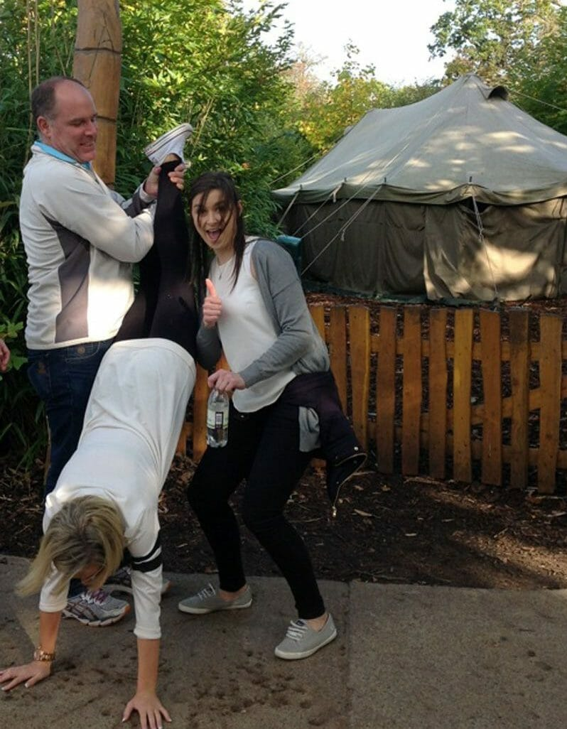 Photo challenges at Camp Congo in Dublin Zoo Treasure Hunt