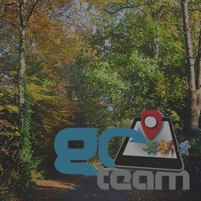 Orangeworks hosts a scavenger hunt on the beautiful grounds of Druids Glen Resort.