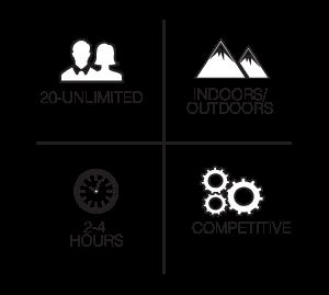 Fifteen Famous Minutes team building event details