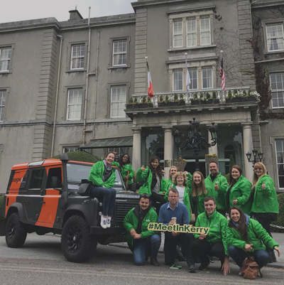 Go Team Killarney treasure trail group photo