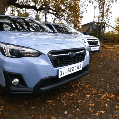 Subaru XV Crossover Showcase with Orangeworks