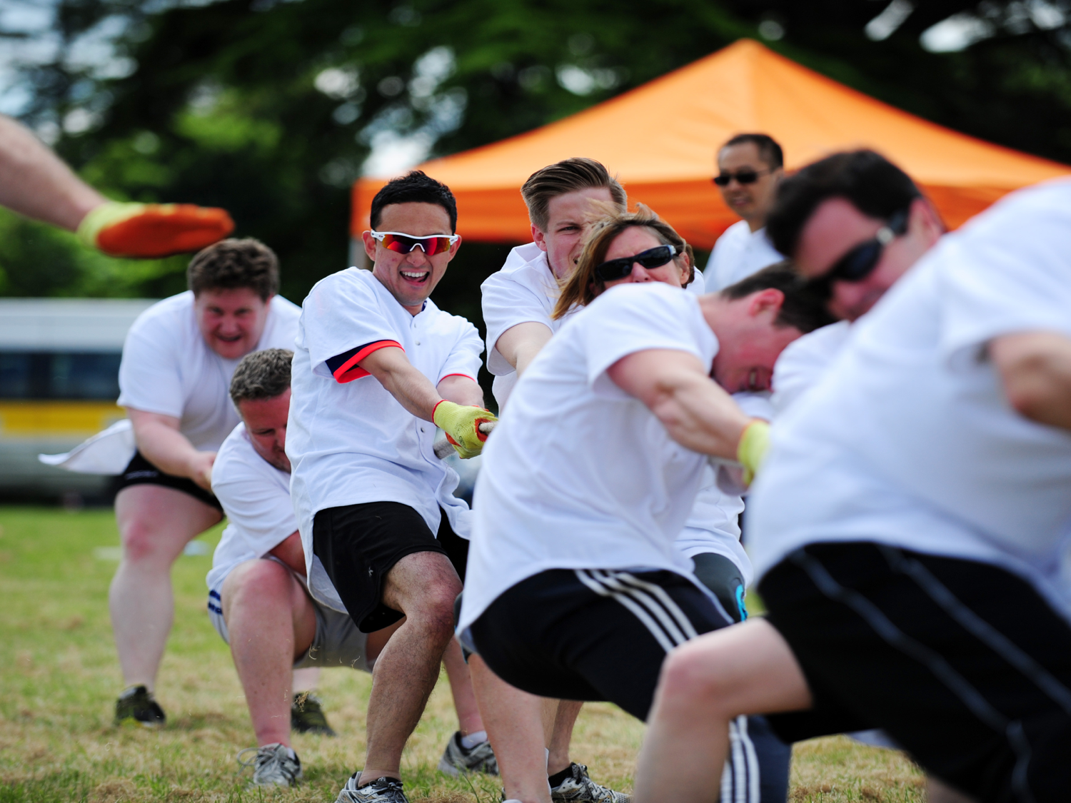 Team-Building or Team-Destroying? How To Boost Positive Competition