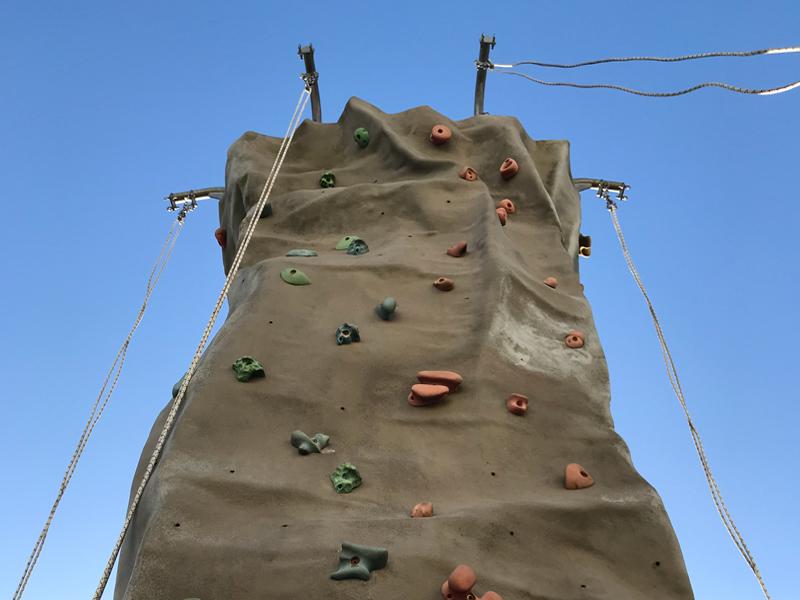 Orangeworks mobile climbing wall