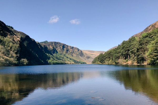 Picture at Glendalough- one of the stops on our Wicklow based Go Team Discovery Challenge