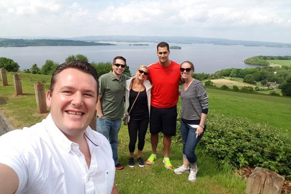 Group photo during Go Team Killarney
