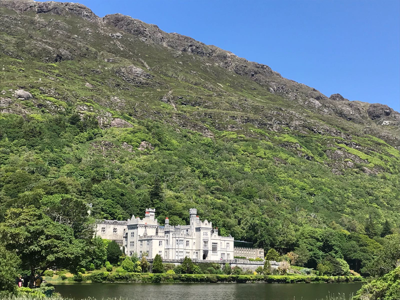 Kylemore Abbey, one of the stops in the Go Team Wild Atlantic Way Discovery Challenge.