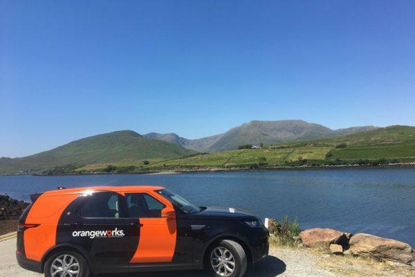 Orangeworks Land Rover Discovery along the Wild Atlantic Way