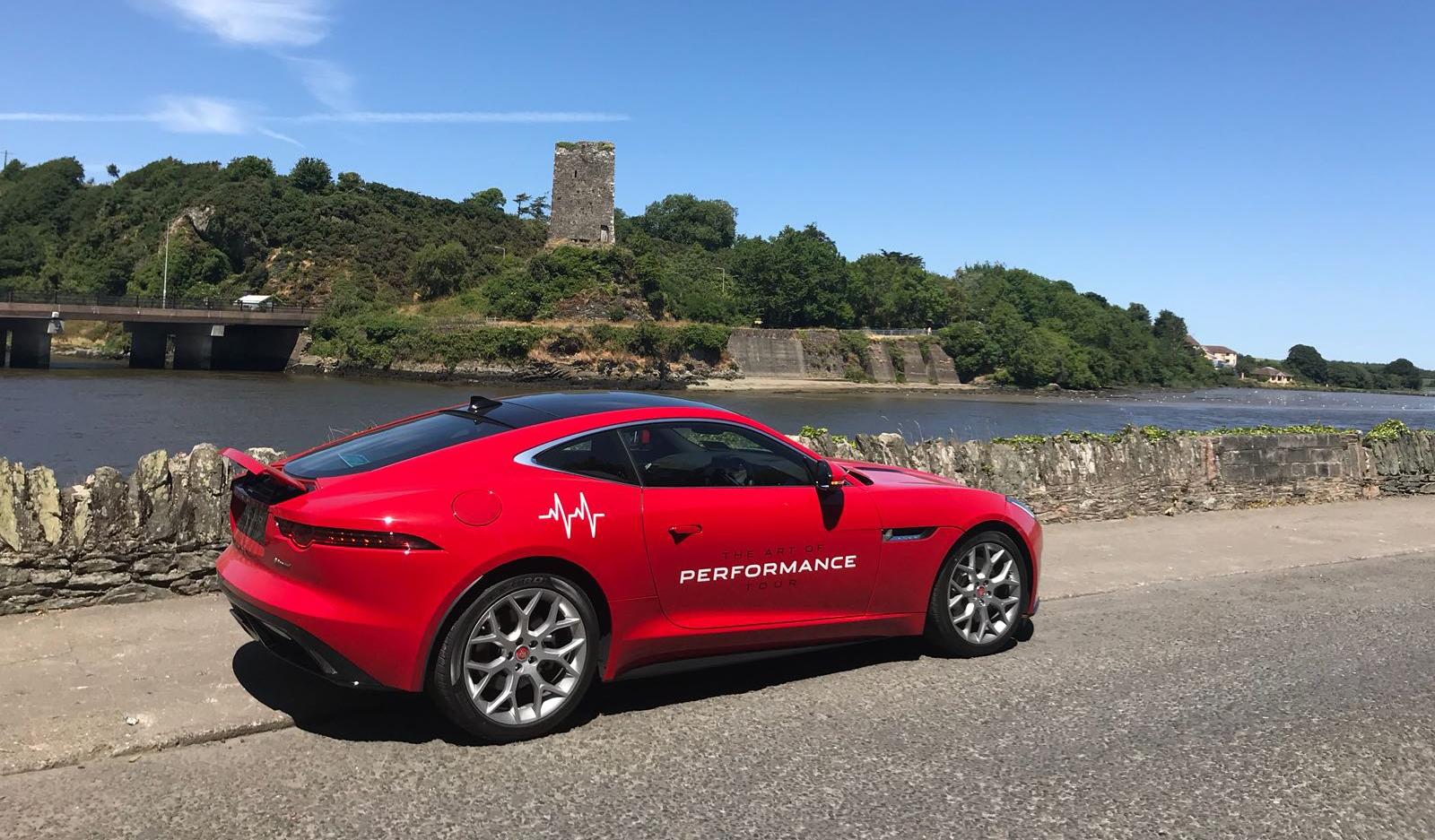 Orangeworks Teams with Jaguar Ireland for the Art of Performance Tour 2018