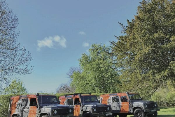 Orangeworks landrover defenders