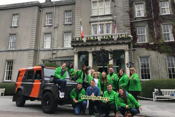 Kerry Convention Bureau on our Killarney iPad treasure hunt