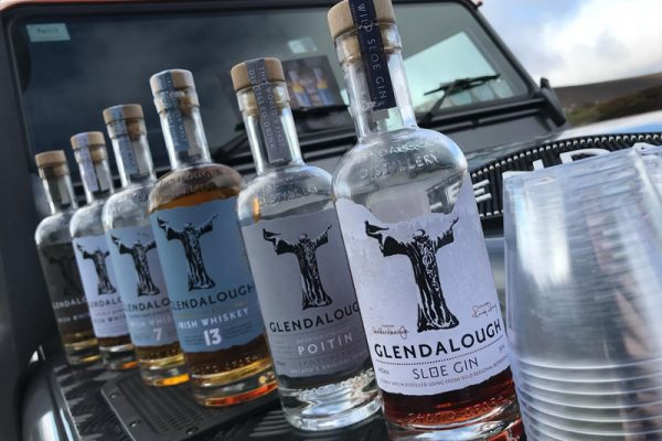 Glendalough Distillery whiskey, poitin and gin for Discovery Challenge