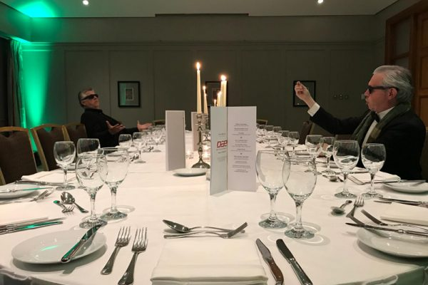 Murder Mystery dinner team building experience