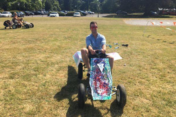 Thunder Races Go Kart team building activity