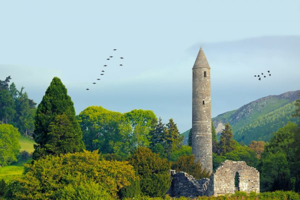 Glendalough Tower Orangeworks Wicklow Discovery Challenge