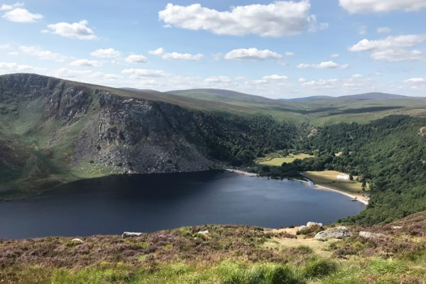Visit Lough Tay on our Wicklow Discovery Challenge