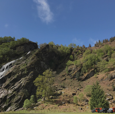 Powerscourt Waterfall Wicklow Discovery Challenge