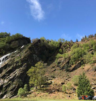 Powerscourt Waterfall Wicklow Discovery Challenge with Orangeworks