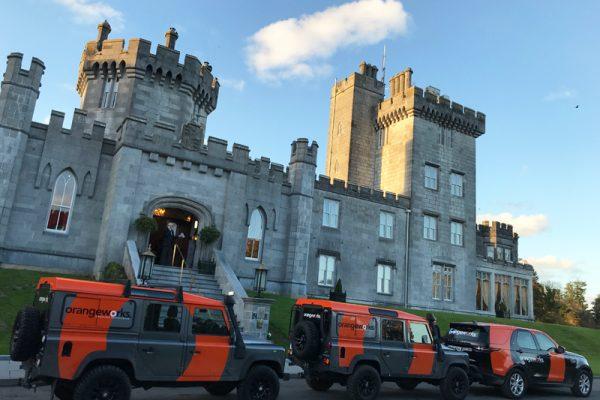 Orangeworks fleet at Dromoland Castle