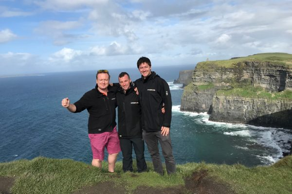 Group photo during Wild Atlantic Discovery Challenge