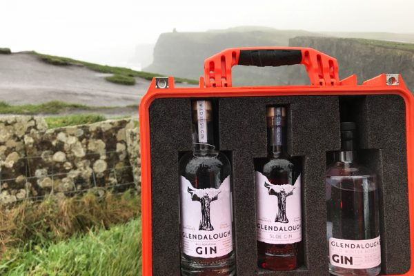 Thirst aid kit at the Cliffs of Moher during Wild Atlantic Discovery Challenge