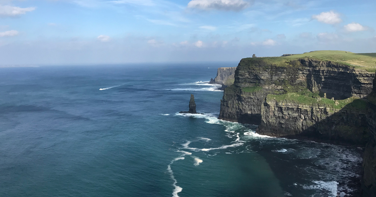 Cliffs of Moher - Orangeworks Wild Atlantic Discovery Challenge