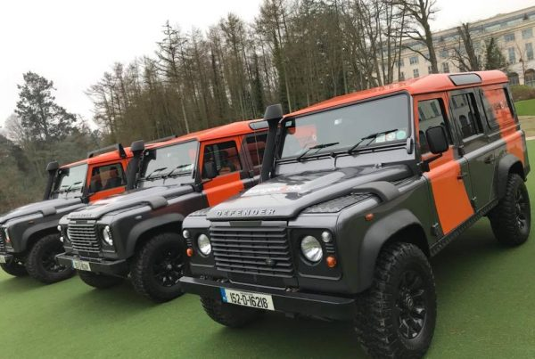orangeworks vehicles at powerscourt