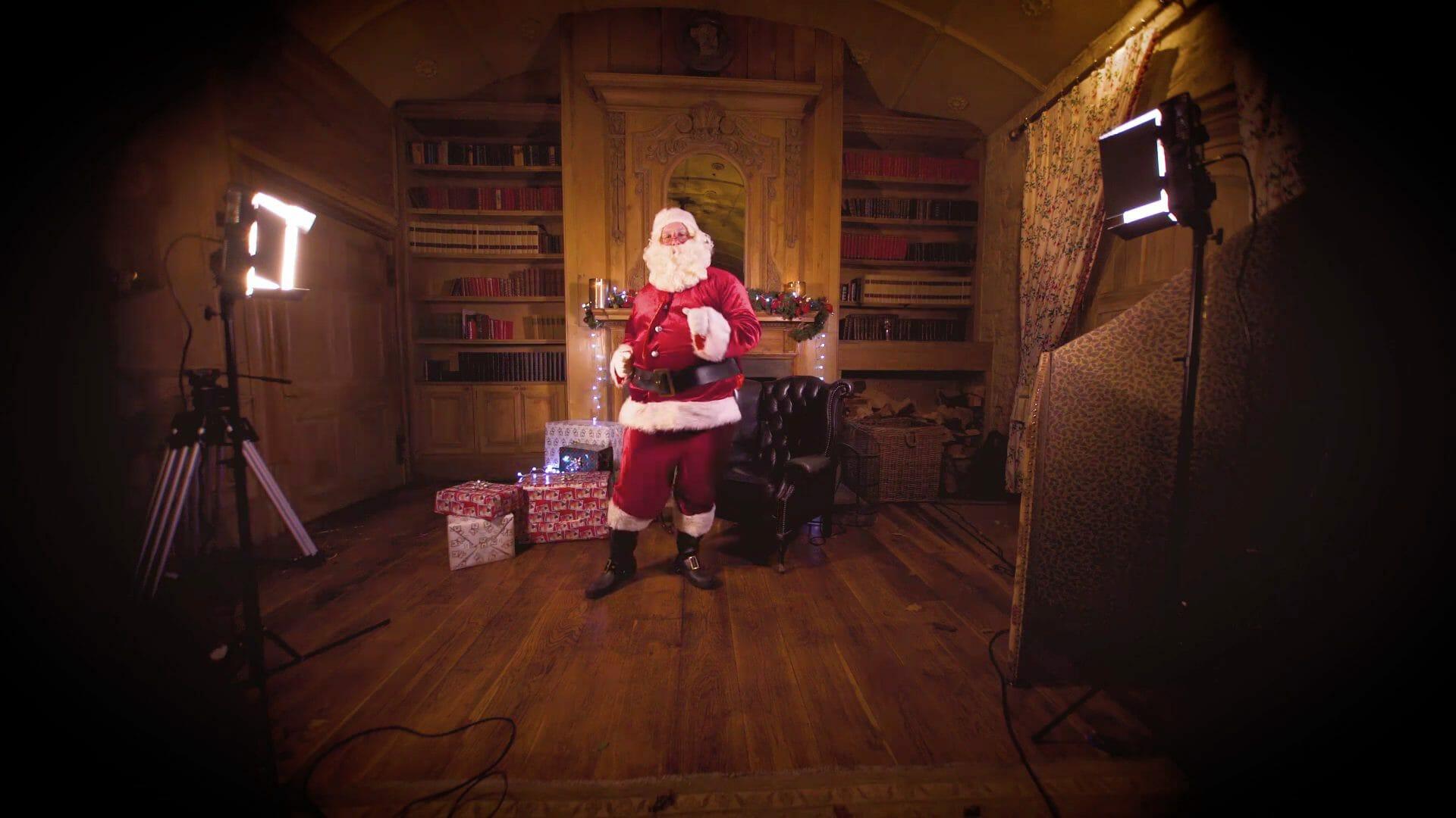 Orangeworks Santa Claus dancing