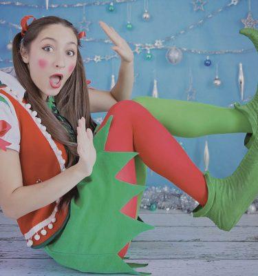 Orangeworks Virtual Christmas Show stock image