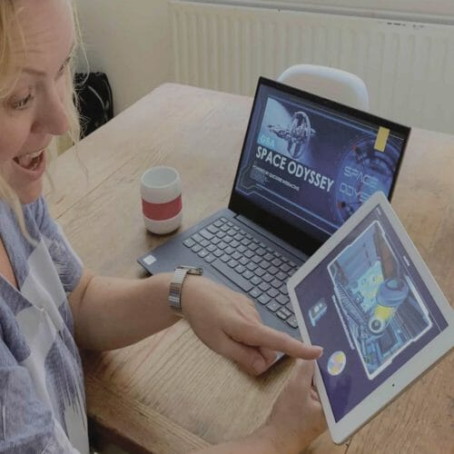 CSI Space Odyssey Portfolio Page