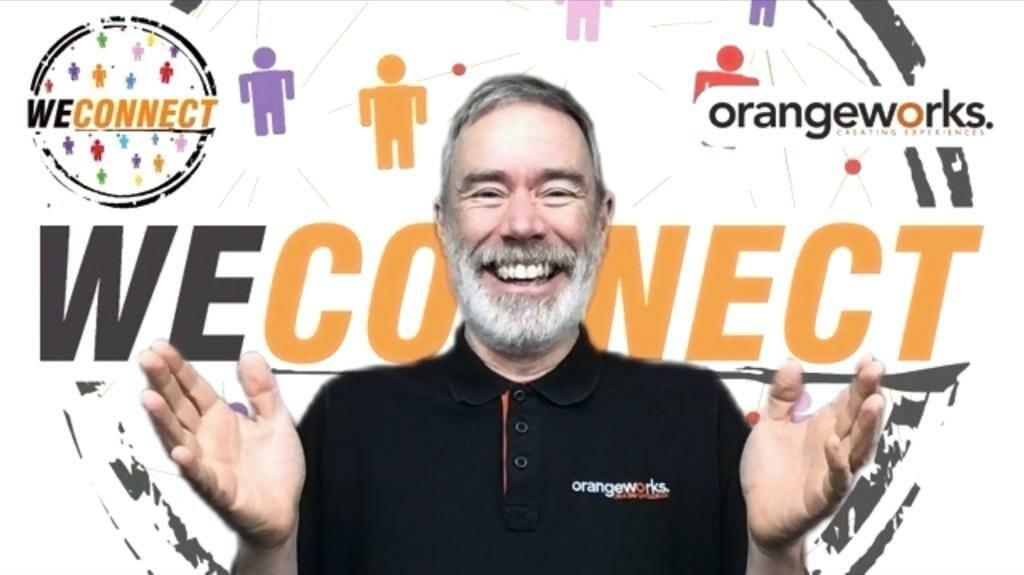John Delaney presenting WeConnect